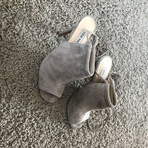 ' Sophie' Steve Madden  Taupe booties